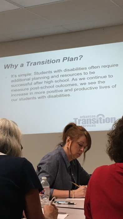 Transition Plans training
